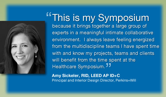 Amy Sickeler, RID, LEED AP ID+C, Principal and Interior Design Director, Perkins+Will